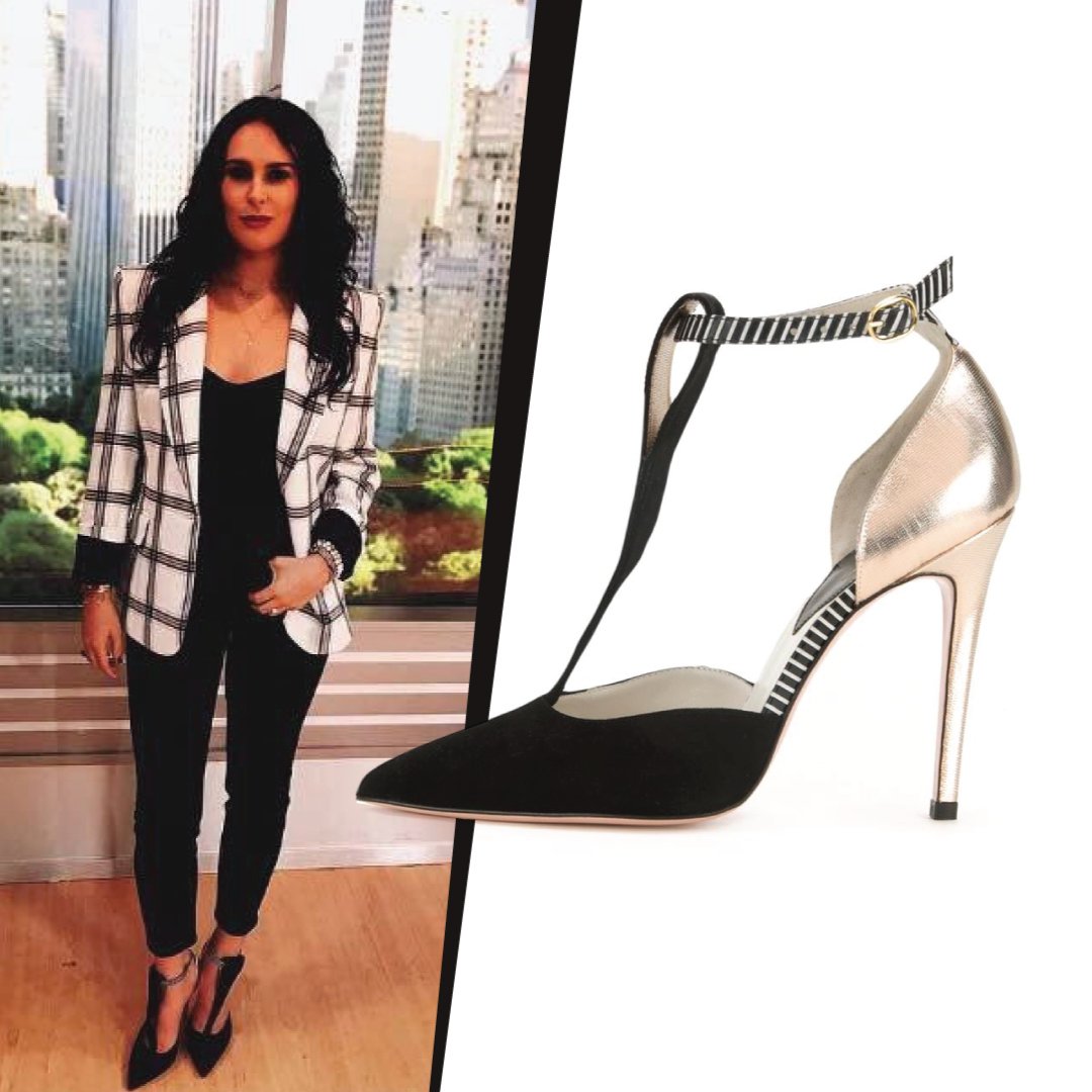 Rumer Willis in Arnaa Shoes by Farah Sultan