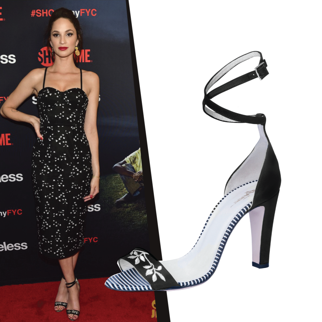 Ruby Modine in Arnaa Shoes by Farah Sultan